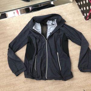 Lululemon black mesh jacket